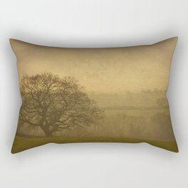 Misty Morning Rectangular Pillow