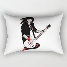 Joan Jett, The Queen of Rock Rectangular Pillow