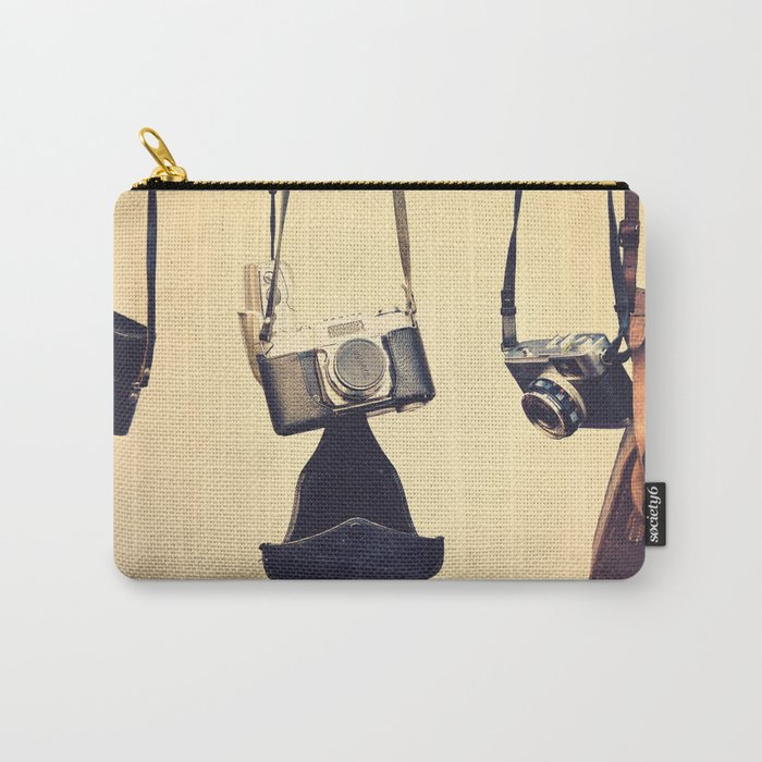 Vintage Cameras Carry-All Pouch
