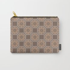Beach Tiled Pattern Carry-All Pouch