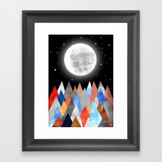 MoonLight XC Framed Art Print