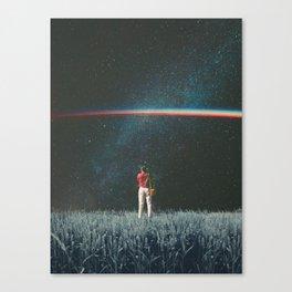 Saw The Light Canvas Print