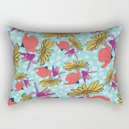 Happy Flora Rectangular Pillow