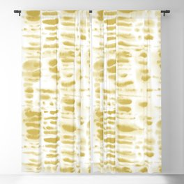 Dye Dash Mustard Putty Blackout Curtain
