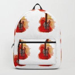 guitar pattern Backpack