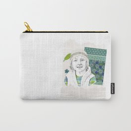 Child in Peru Carry-All Pouch