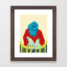 Piano Passion Framed Art Print