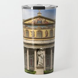 Basilica of St Paul Outside the Walls Travel Mug