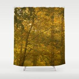Forest in Fall Color Autumn Scene #decor #society6 #buyart Shower Curtain