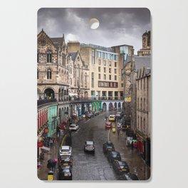 Victoria Street in Edinburgh, Scotland Cutting Board