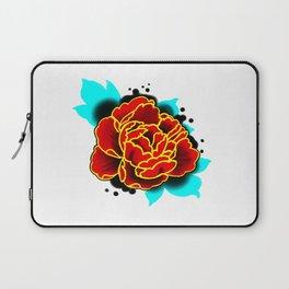 Red Peony  Laptop Sleeve