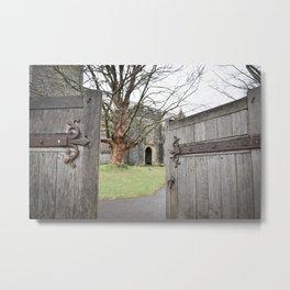Open Doors Metal Print
