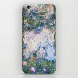 Garlic Lilies Water Lilies Fine Art Parody iPhone Skin