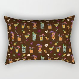 Tropical Drinks Rectangular Pillow