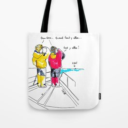 Cirrus/Let's go! Tote Bag