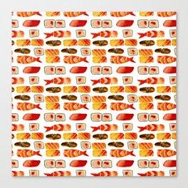 Sushi vibes Canvas Print