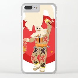 Le Carnaval de Binche Clear iPhone Case