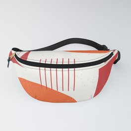 Abstract Lines 1 Fanny Pack