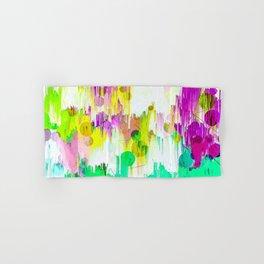 Melting Pastels Abstract Design Hand & Bath Towel