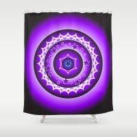 spiritual Shower Curtains featuring Spiritual Soul by Psychic Medium Karen Nash