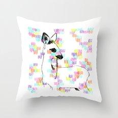 Little Bambi Throw Pillow