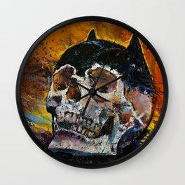Bat Relics Wall Clock