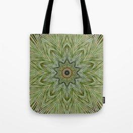 White pine kaleidoscope/mandala II Tote Bag