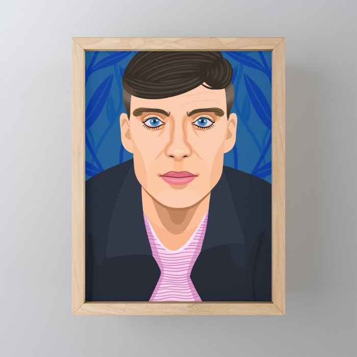 Cillian Murphy Framed Mini Art Print