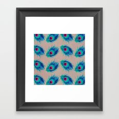 Peacock Feathers no.2 Framed Art Print