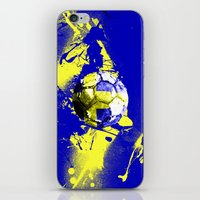 sweden iPhone & iPod Skins featuring football Sweden  by seb mcnulty