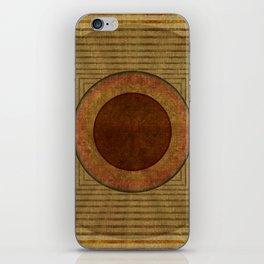 """""""Golden Circle Japanese Vintage"""" iPhone Skin"""
