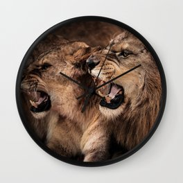 King and Queen Wall Clock