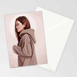 Elf Woman Stationery Cards