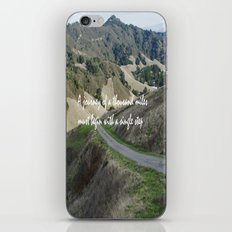 Thousand Miles iPhone & iPod Skin
