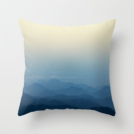 Calming Mountains in Rio de Janeiro, Brazil Throw Pillow