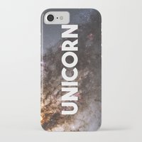 the last unicorn iPhone & iPod Cases featuring Unicorn by eARTh