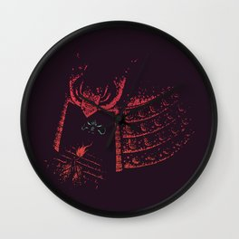 Secrets of the Samurai Wall Clock