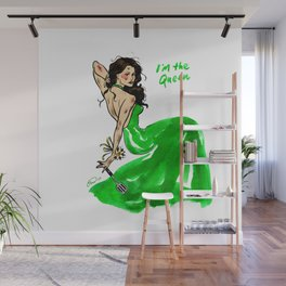 Queen Cordy Pin up Wall Mural