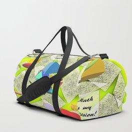 I Love Math Duffle Bag