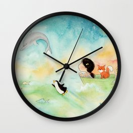Escaping the Atmosphere Wall Clock