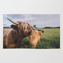 Highland Cows II Rug