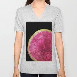 Watermelon Radish Unisex V-Neck