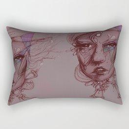 Pearl and Prism Rectangular Pillow