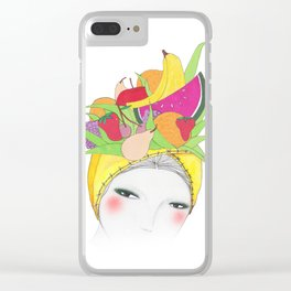 Fruity Tooty Clear iPhone Case