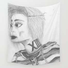 Card XIII Wall Tapestry