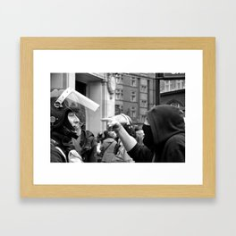 Accusation Framed Art Print
