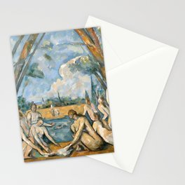 Paul Cézanne - Les Grandes Baigneuses (The Large Bathers) Stationery Cards