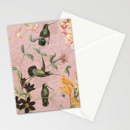Pink Hummingbird Stationery Cards