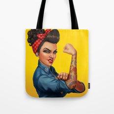 Rosie the Riveter Tote Bag