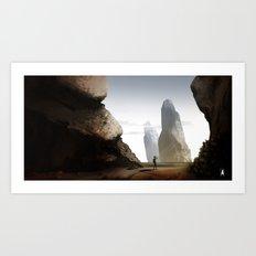 Landscape Experiment Art Print